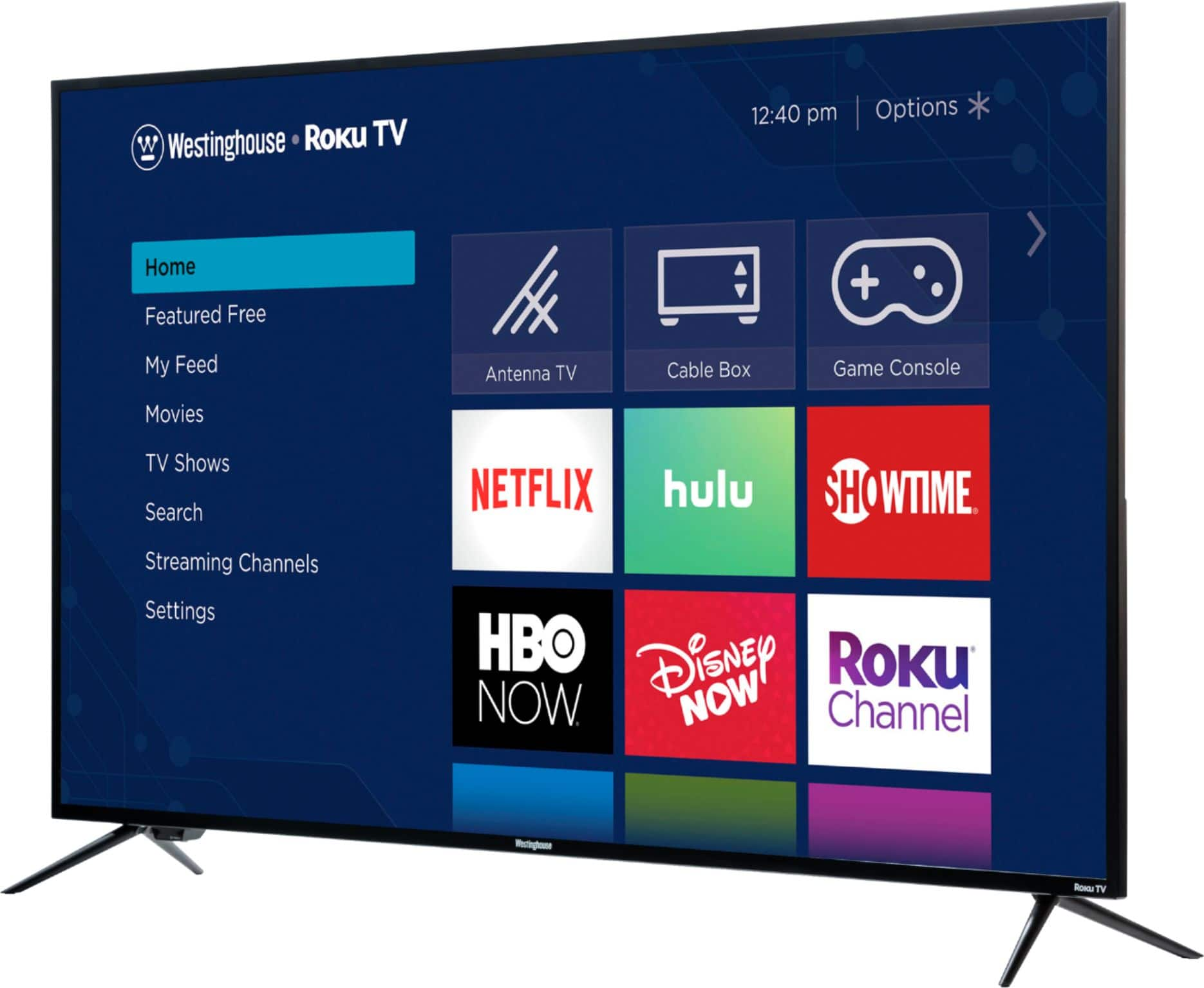 Westinghouse 65-Inch Class Smart 4K UHD TV with HDR Roku TV WR65UX4019 for $399.99 + Free Delivery @ Best Buy