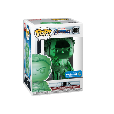 BOGO: Buy 1 Green Funko POP! Marvel: Endgame Chrome Hulk Get Another Color Free $3.99 Walmart