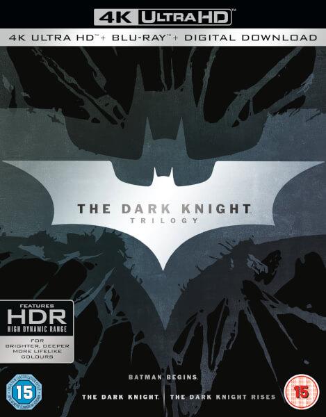The Dark Knight Trilogy 4K Blu-ray Pre-order $56.58 shipped