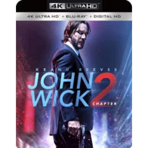 John Wick: Chapter 2 4K Blu-ray - $13 at Amazon with free shipping if you have Prime