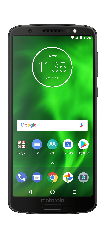 Motorola Moto G6 32GB Unlocked Smartphone Black $59.00 Walmart YMMV