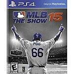 Playstation 4 MLB 15 The Show at Best Buy for $39.99 but it is $19.99 (free shipping) with GCU for PS4