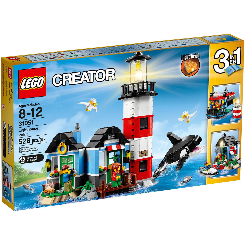 LEGO Creator Lighthouse Point Building Set 31051 $21 Walmart B&M YMMV