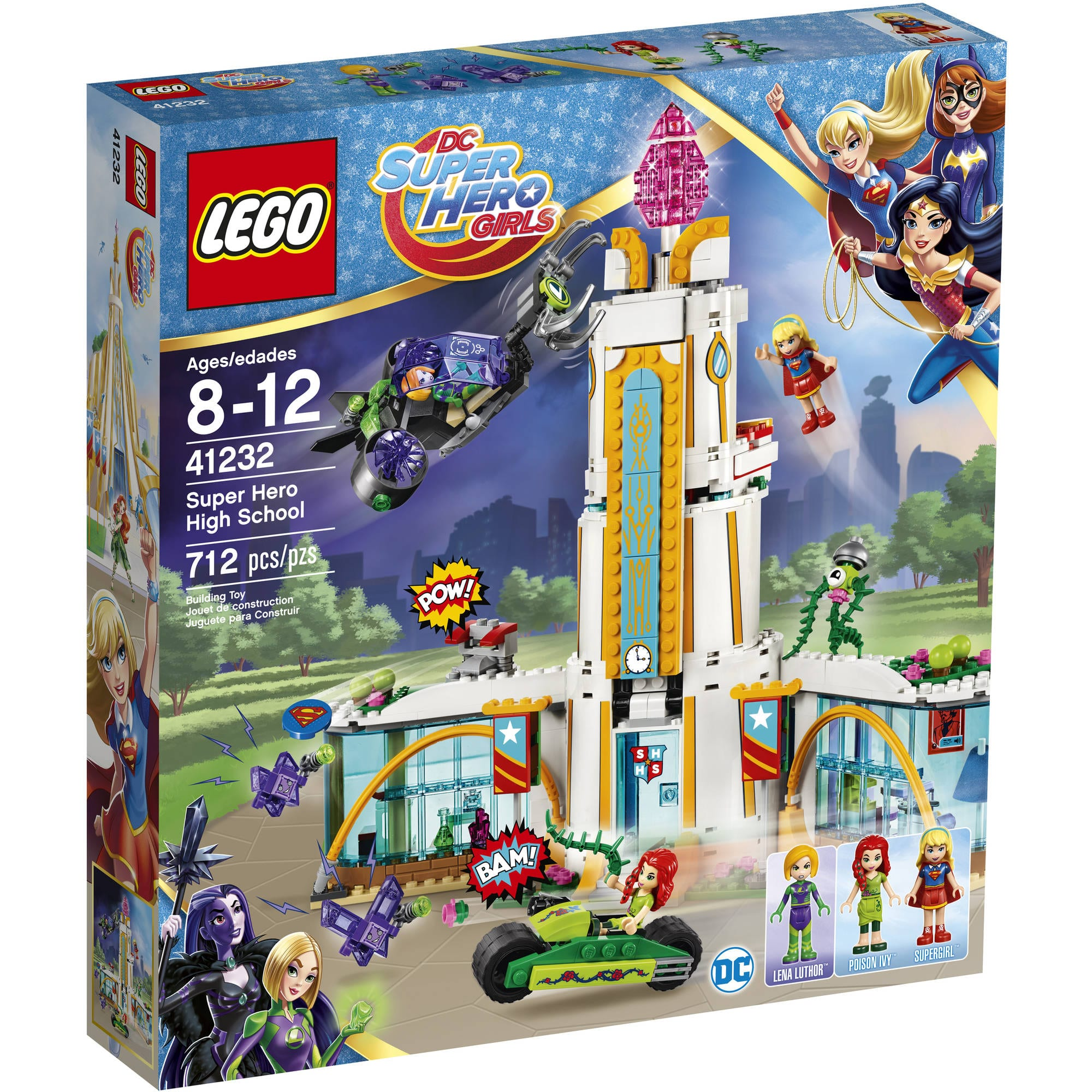 Lego DC Super Heros Girls Highschool $15 YMMV at Walmart B&M and other deals