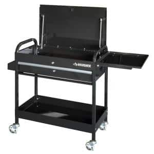 Husky 31 in. 1-Drawer Utility Cart $69 + Free Pick Up at Home Depot and other tools