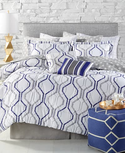 12-Piece Comforter Sets (queen or king) $45.50 shipped