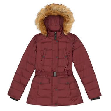 Nicole Miller Womens Faux Down Anorak Jacket (3X only)  $9.20 shipped