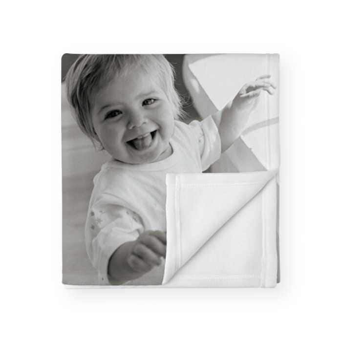 """50"""" x 60"""" Personalized Fleece Throw Blanket $20 + free pickup at walgreens"""