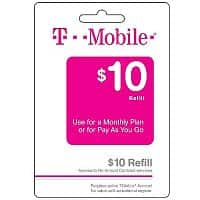 Target Deal: Target Tmobile Refill Cards 5% off , week of 7-27-14 Extra 5% with Red Card B&M