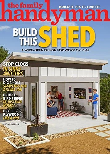 Family Handyman Print Magazine 5 month for $0.99