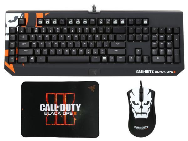Razer Blackwidow Chroma, Deathadder Chroma, Goliathus Mouse mat Call of Duty Black Ops 3 $114.99 FS