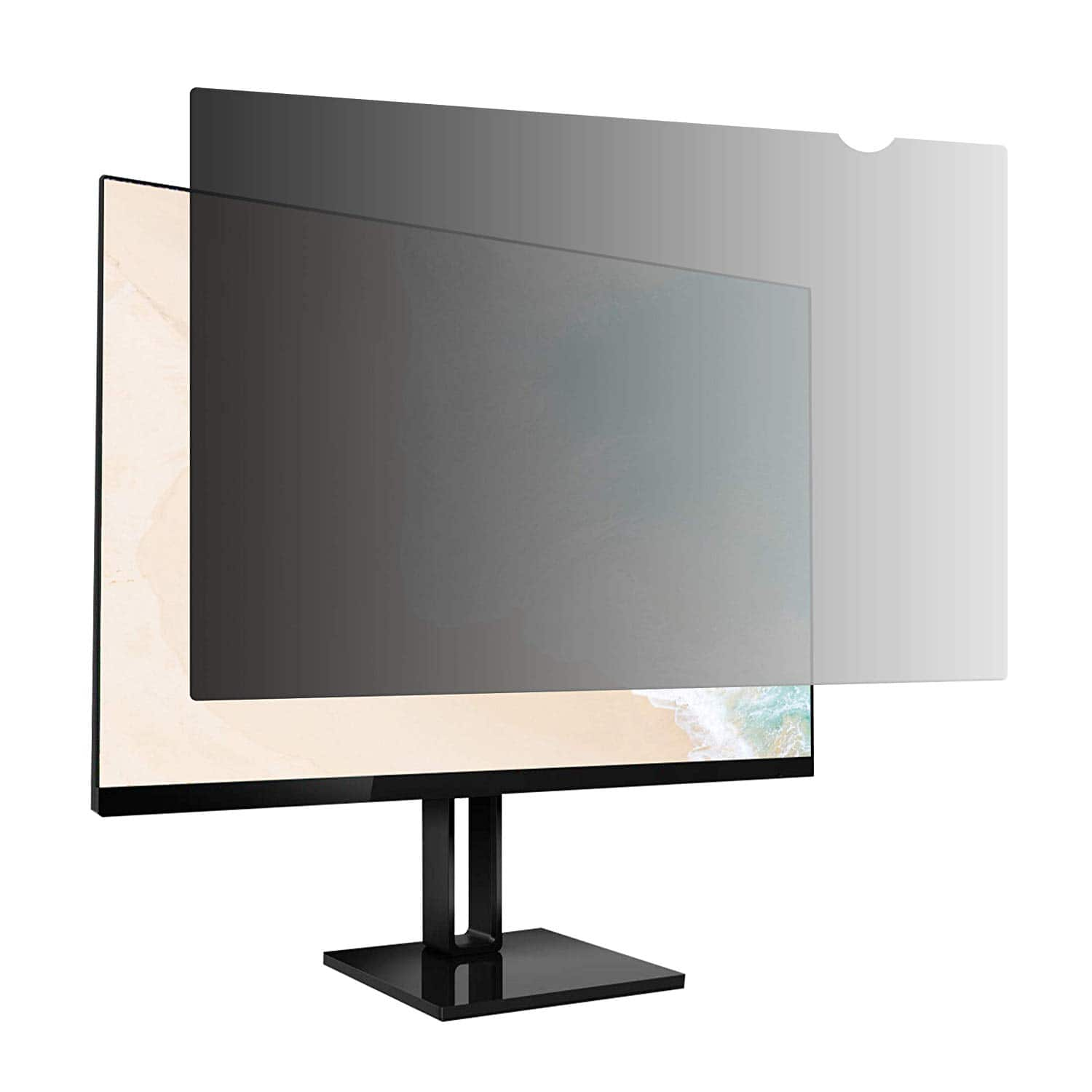 AmazonBasics Privacy Screen Filter for 13.3 Inch 16:9 Widescreen Monitor $19.06
