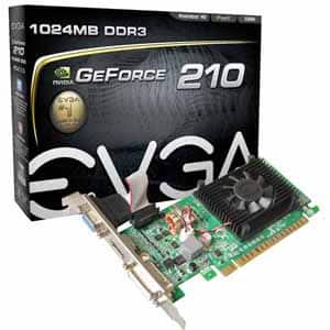 Video Card: EVGA GeForce 210 1GB $9 AR