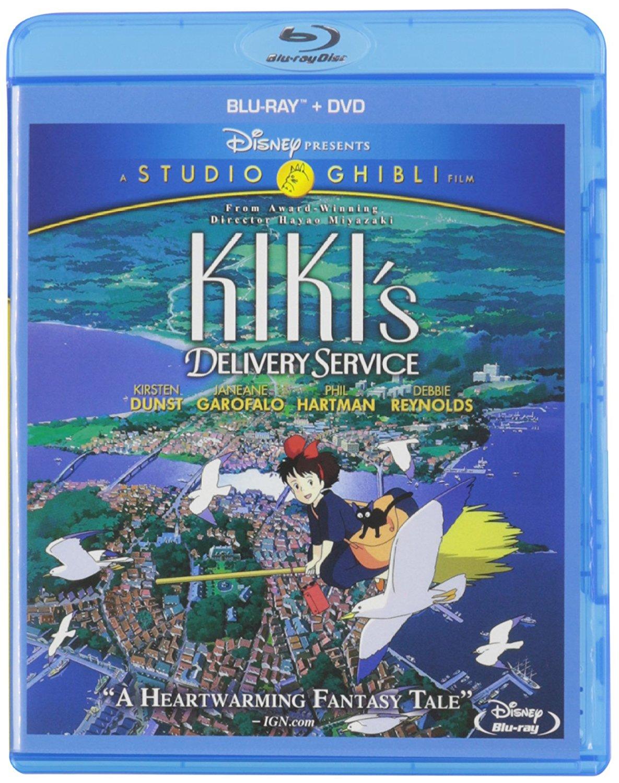 Studio Ghibli Films (Blu-ray + DVD): Castle In The Sky, Kiki, Ponyo & more $11.39 each Target In Store w/ CW & Red Card