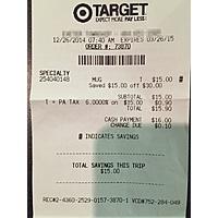 Target Deal: Target B&M: Starbucks Coffee Refill Tumbler 1/2 off - $15