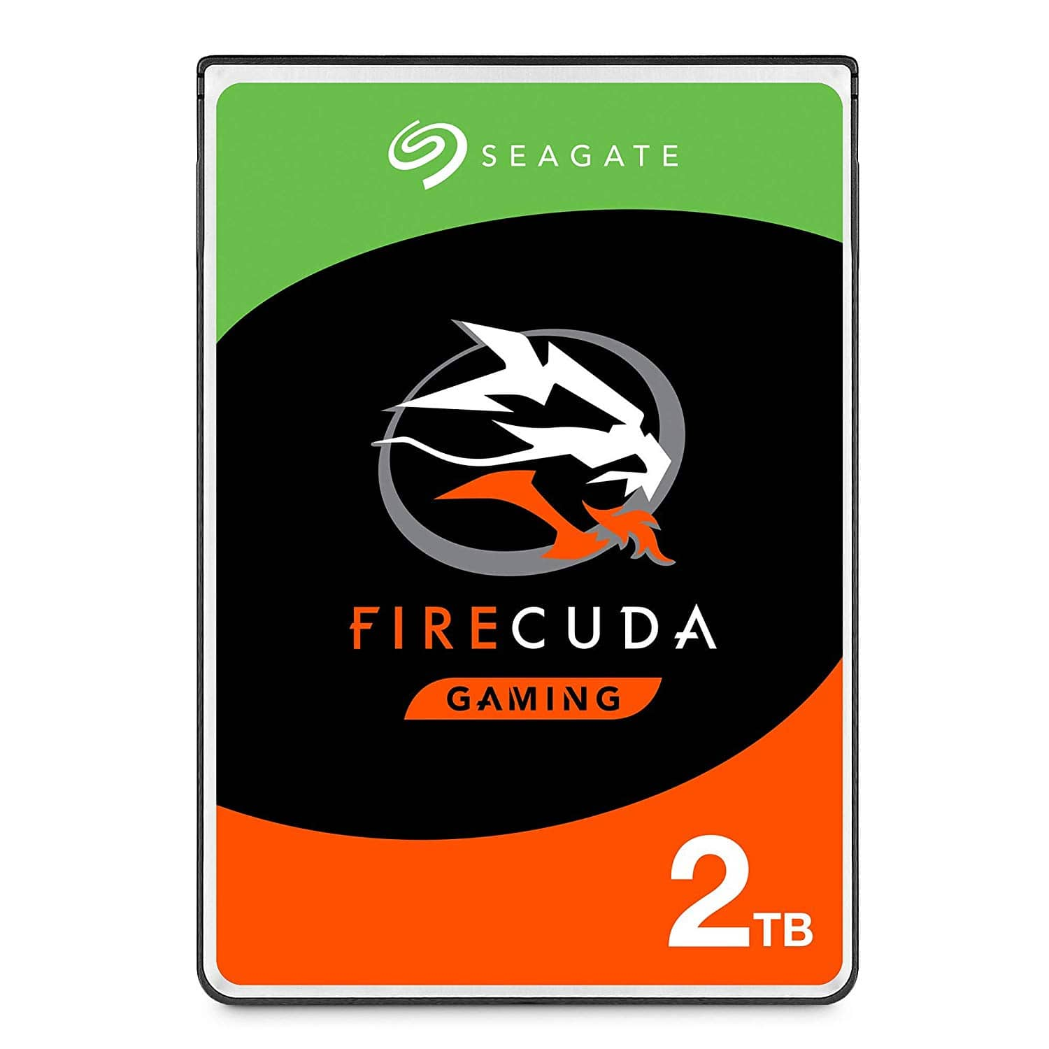 Seagate FireCuda 2TB Solid State Hybrid Drive Performance SSHD – 2.5 Inch SATA 6GB/s Flash Accelerated for Gaming PC Laptop, $64.99