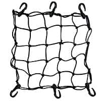 "Amazon Deal: Crazy Shopping Heavy-Duty 15"" Cargo Net for Motorcycles, ATVs, Bicycles - Stretches to 30"" - $2.72 Free S&H"