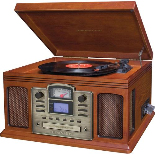 Crosley CR2405C-PA Director CD Recorder w/Cassette & Record Player - OPEN BOX $50 + Free shipping