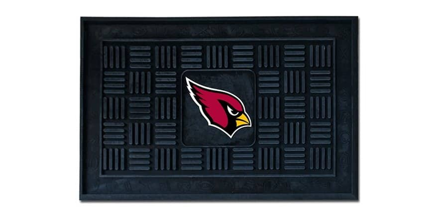 "NFL 18"" x 30"" Medallion Door Mat for $15 + $5 shipping"