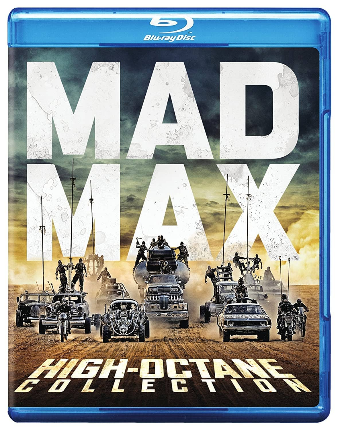 Mad Max: High Octane Collection Blu-ray & 4K Ultra HD (only Fury Road is UHD) $39.99
