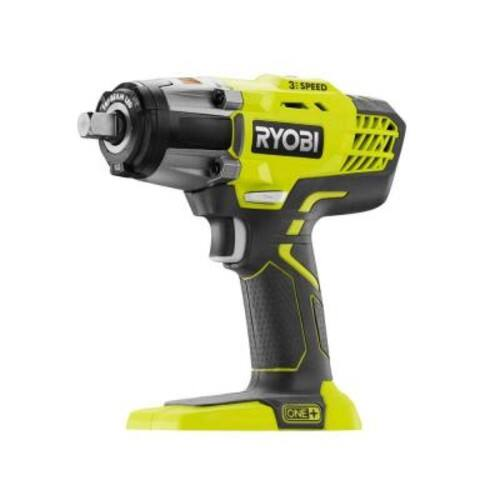 Ryobi 18-Volt ONE+ 1/2 in. Cordless 3-Speed Impact Wrench (Tool-Only) $110.99