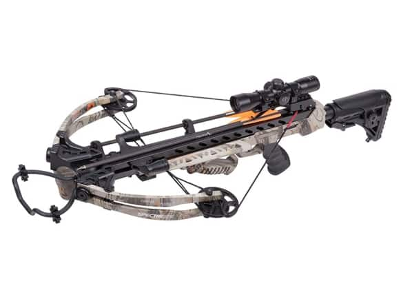 """CenterPoint AXCSPE185CK Compound Crossbow with 3 20"""" Carbon Arrows, One Size $170"""