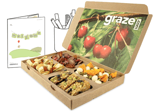 FREE Box of Healthy Snacks @ Graze.com. New customers only, credit card sign up, but can cancel any time after free box
