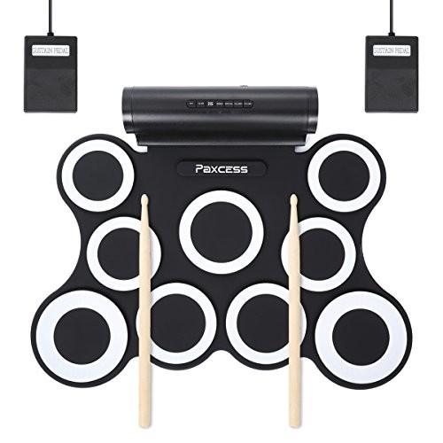 PAXCESS 9 Pads Electronic Drum Set $45.49