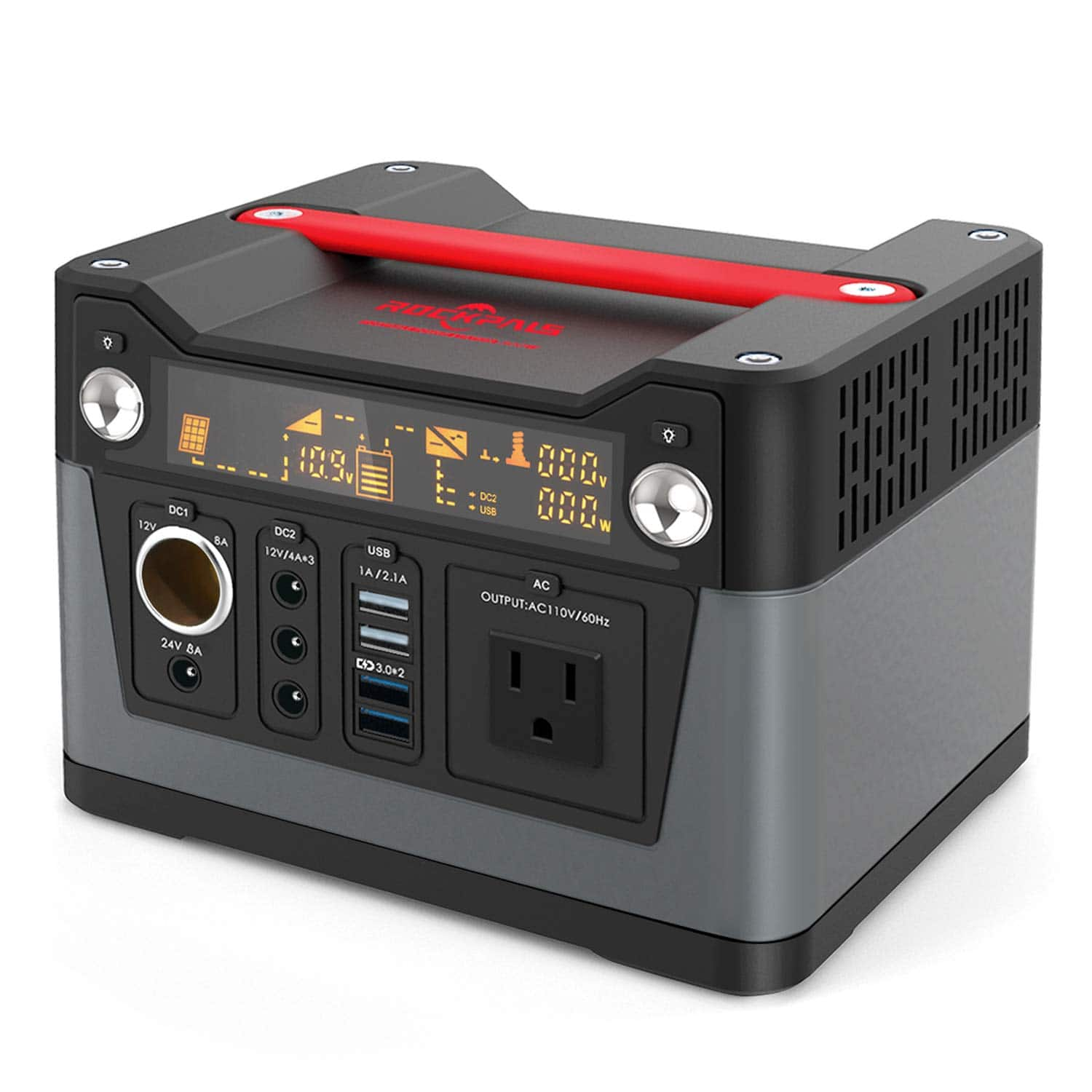 ROCKPALS 300W Portable Generator Lithium Portable Power Station $198.9