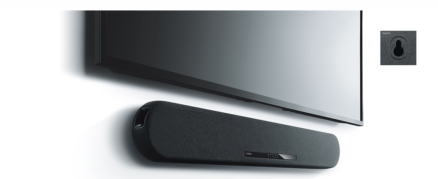 Yamaha YAS-108 Sound Bar with Built-in Subwoofers - $150