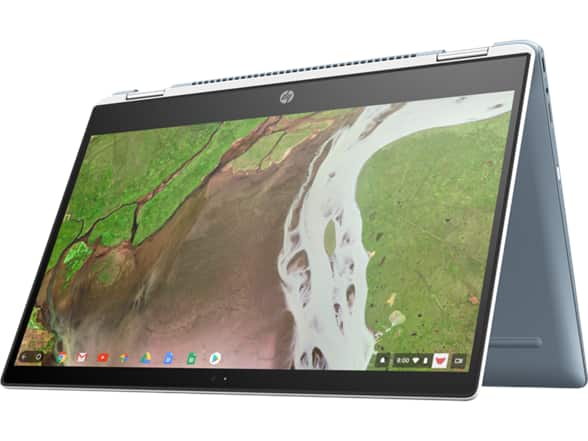 "Refurbished HP X360 14"" Chromebook with good specs for $280 on Woot"