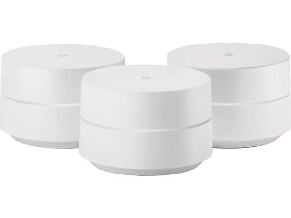 1st gen Google WiFi 3-pack for $175, refurb