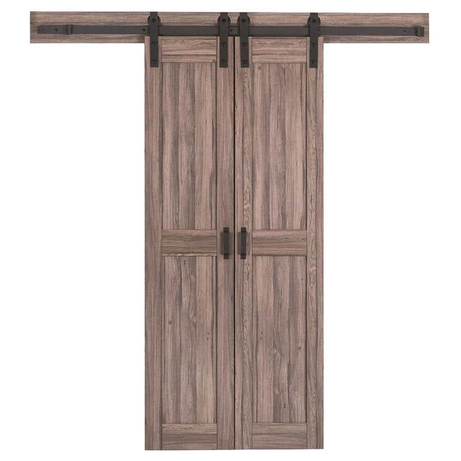 Reliabilt Solid Core Mdf Barn Interior Door W Hardware Kit Various