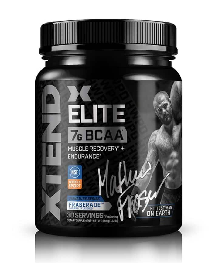 Mat Fraser's limited edition XTEND Elite Buy 2 Get 1 Free (39.99 value). Plus Free Mat Fraser Shaker with every order for $79.98 + Free Shipping