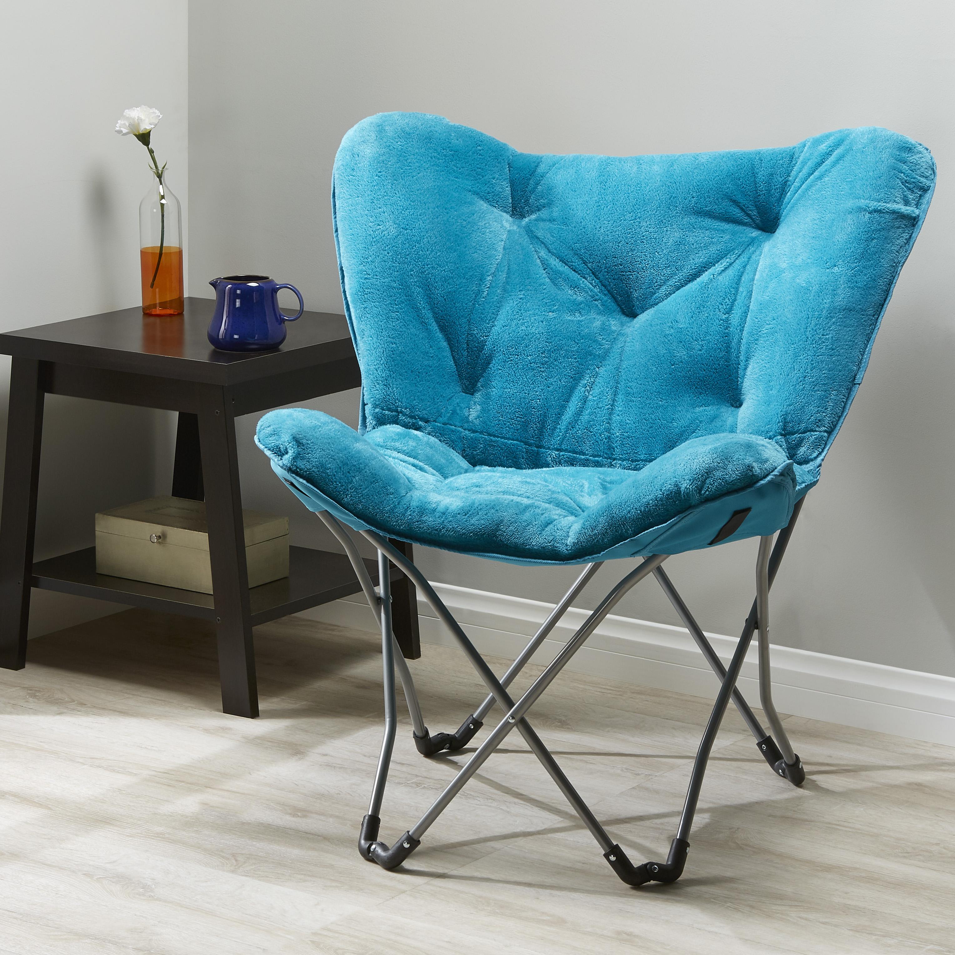 Wondrous Mainstays Folding Butterfly Chair Multiple Colors 19 97 Machost Co Dining Chair Design Ideas Machostcouk
