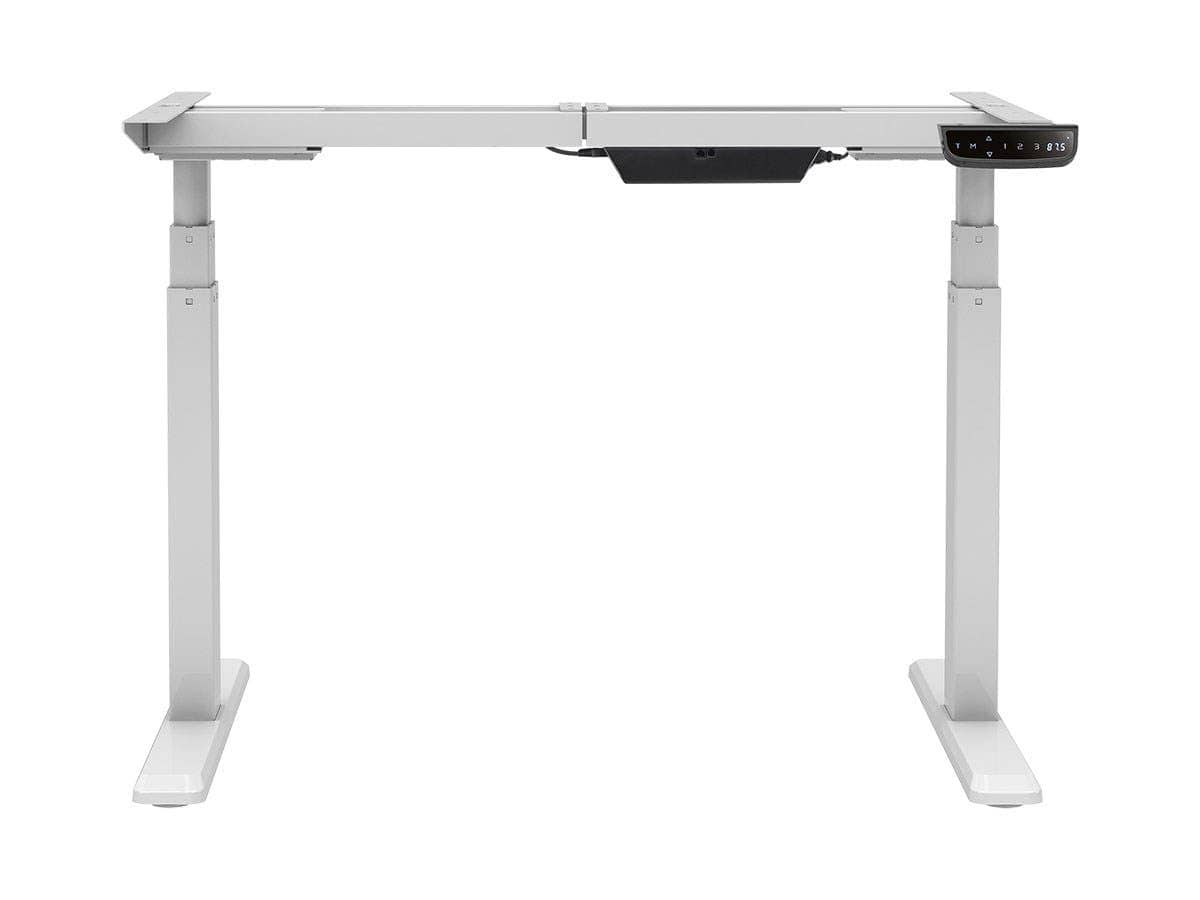"""[Desk] Workstream by Monoprice Sit-Stand Dual-Motor Height Adjustable Table Desk Frame, Electric, White, Fits desktops between 43""""-87"""", $229.99 ($329.99-$100) w/ Free Shipping. Bac"""