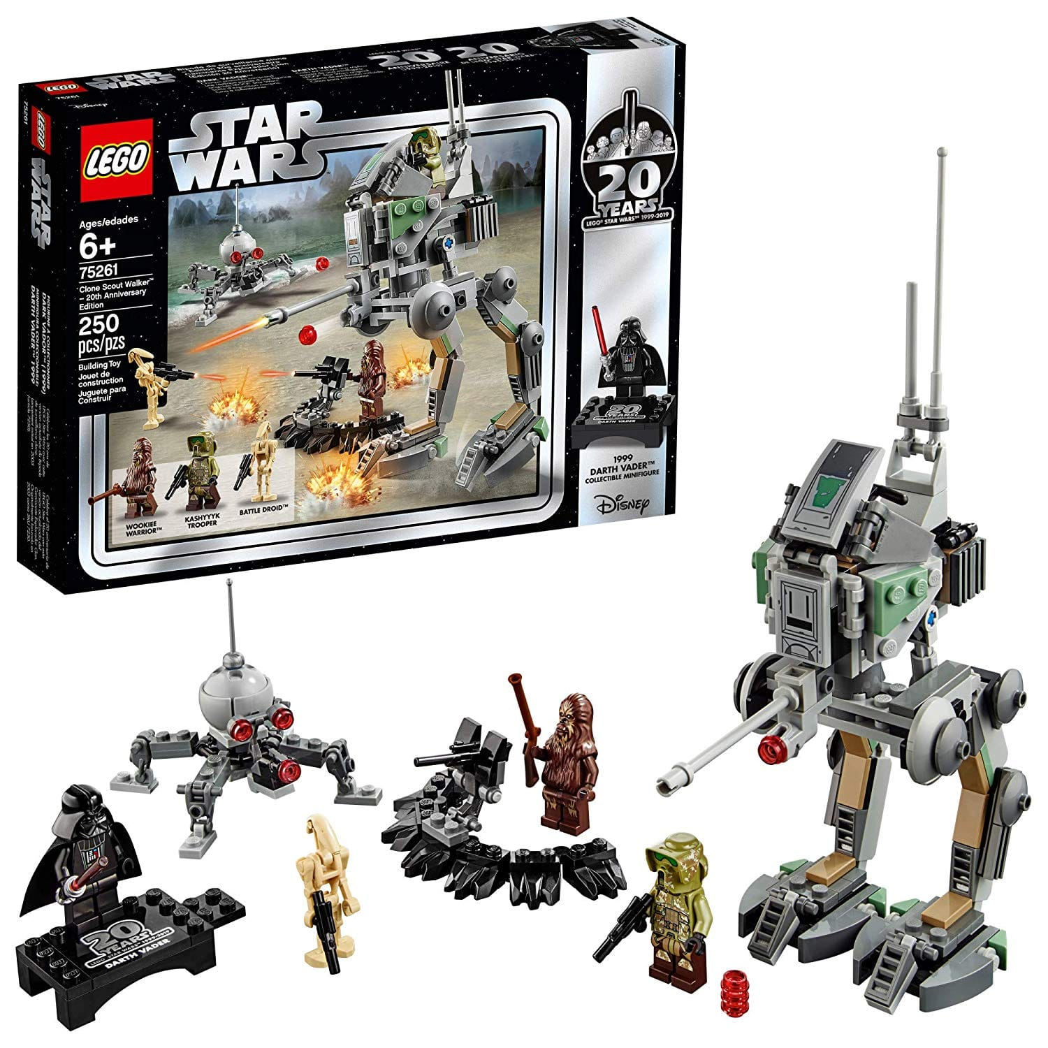 LEGO Star Wars Clone Scout Walker 20th Anniversary Edition (75261) + Free Shipping with Prime $18.99