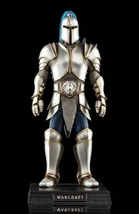 Warcraft Alliance Foot Soldier Armor 1/6 Scale Statue $25