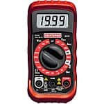 Craftsman Multimeter 8 Functions and 20 ranges for $10 (50% off) in sears