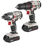 Porter-Cable Cordless Li-Ion Drill & Impact Driver Combo Kit for 79.99$