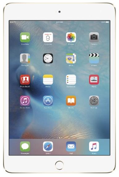 Apple iPad Mini 4 Wifi (64Gb) - Best Buy - $270 (certified refurbished)
