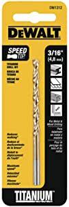 DEWALT DW1312 3/16-Inch Titanium Split Point Twist Drill Bit $0.79 at Lowes or Amazon $0.79