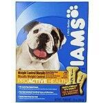 Iams Proactive Health Weight Control Biscuits Adult Dog, 24-Ounce Boxes (Pack of 6) $5.50 Add-On Item @ Amazon