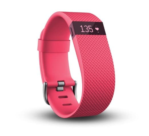 Fitbit Charge HR Wireless Activity Wristband (ONLY IN Pink, Large (6.2 - 7.6 in)) $59.99 FS @ Amazon