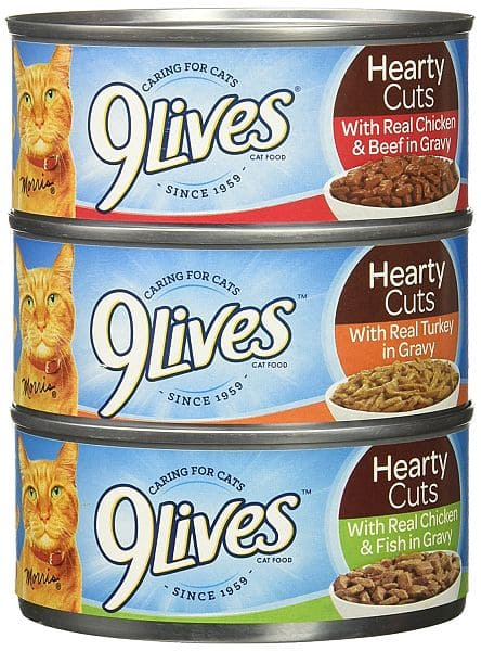 Available Again: Add-On Item: 12-Pack of 5.5oz 9 Lives Favorites Variety Pack Canned Cat Food $3.99 Or Less w/ S&S @ Amazon