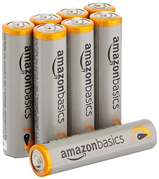 AmazonBasics AAA Performance Alkaline Batteries, 8 Count $0.73 Prime Pantry @ Amazon