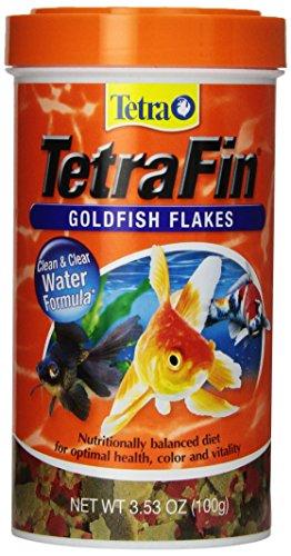 TetraFin Balanced Diet Goldfish Flake Food for Optimal Health 3.53oz $3.59 or less