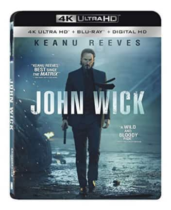 John Wick 4K UHD + Blu-ray + digital @ Target B&M and on-line $11. Free shipping on-line