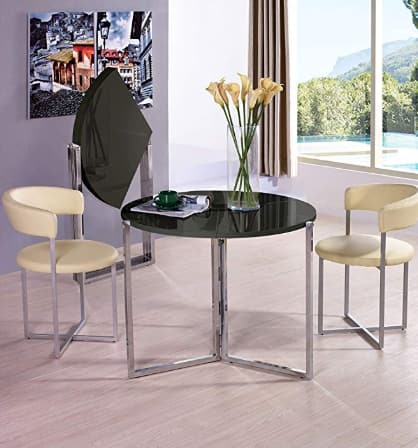 Space saving - Rosa Foldable Round Dinning Table @Amazon $285.54