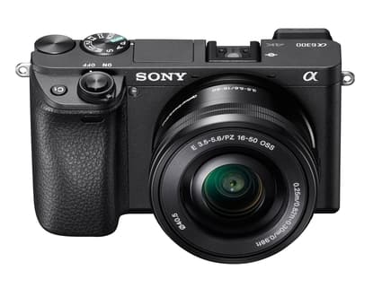Sony A6300 APS-C w/16-50mm lens.  Military Exchange have it on sale for $599